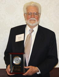 John Beard with McMillan Award