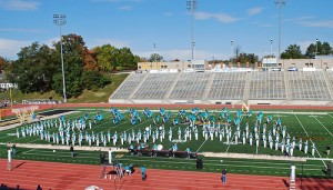"""At the end of the marching season, we traveled to Indianapolis for a band competition."""