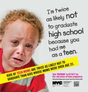 NYC teen pregnancy ad