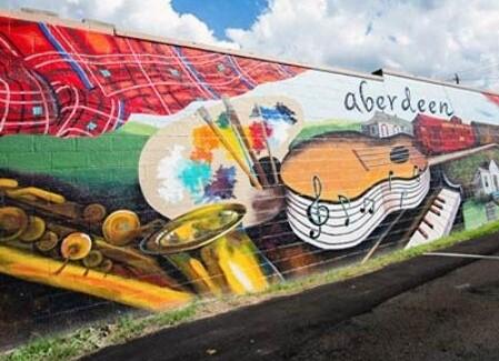 Aberdeen mural