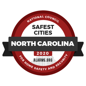 2020 Safest Cities in NC