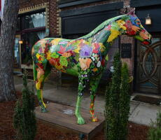 A Horse Lover's Dream:  2021 Painted Ponies Art Walk & Auction