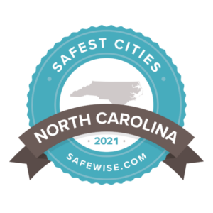 Safewise's 2021 Safest Cities in NC