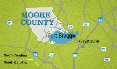 Proximity to Fort Bragg