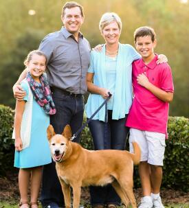 Helena Wallin-Miller & family