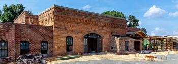 Pinehurst Brewery renovations June 2018