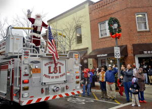 Southern Pines Christmas Parade 2017