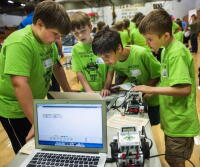 Moore County Schools Robotics Elementary School Showcase