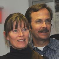 Kent Misegades & wife Ulli