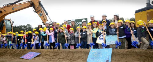 Pinehurst Elementary Groundbreaking - Feb 2020