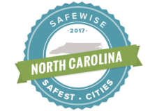 Safewise 2017 Safest Cities in NC