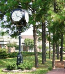 SCC campus clock