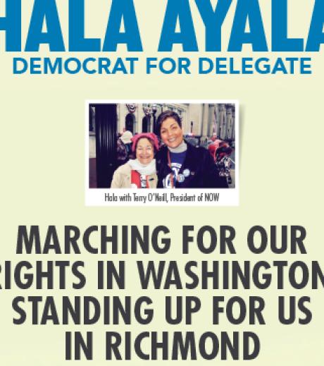 Delegate Hala Ayala