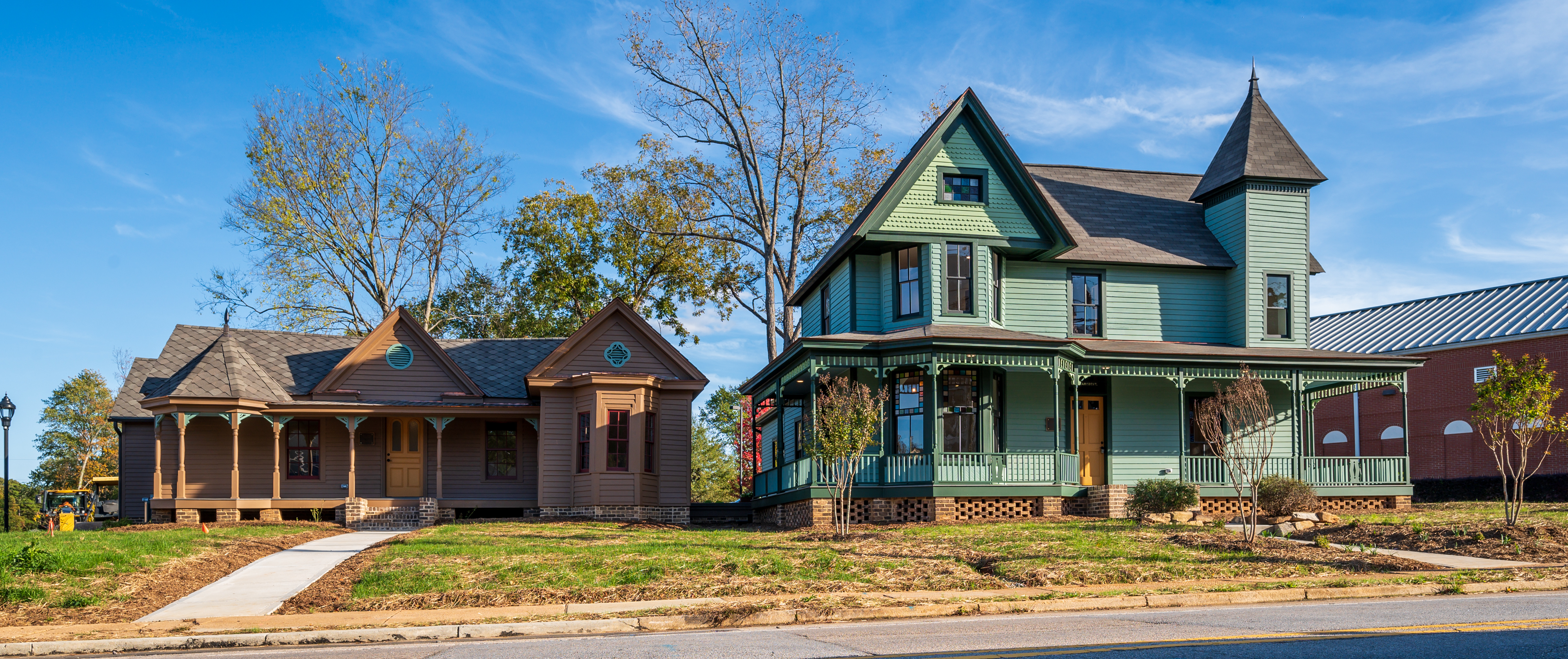 Preservation North Carolina's new headquarters in the Hall and Graves-Fields House in Oberlin, an African American community founded near Raleigh after the Civil War. Photo credit: Jim Lamb, Capital City Camera Club.