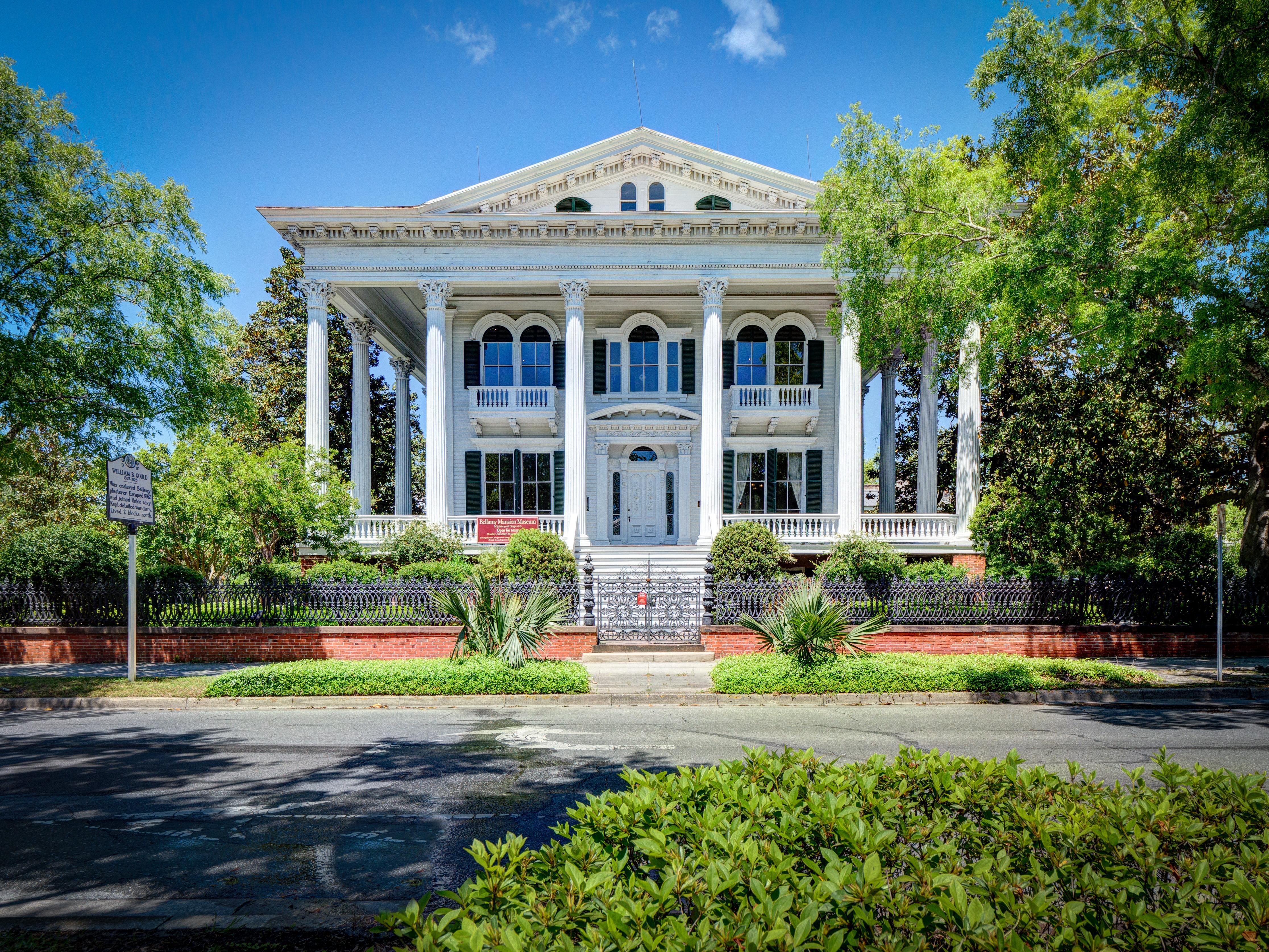 Bellamy Mansion, Wilmington. Photo credit: David Strevel, Capital City Camera Club.