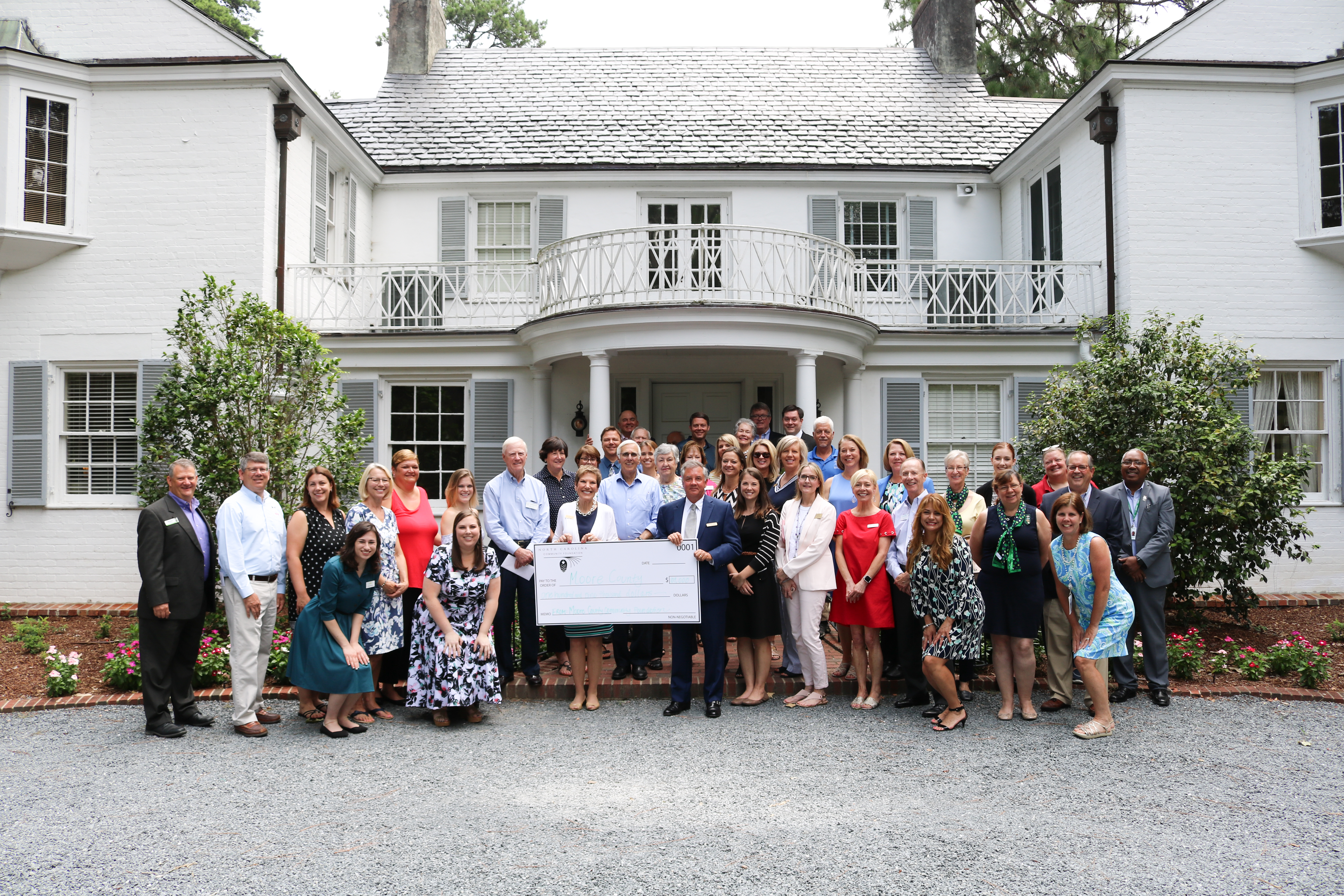 The Moore County Community Foundation celebrated local grantmaking this summer, announcing more than $109,000 in community grants. NCCF affiliates' annual grantmaking programs make a difference in local communities throughout the state, supporting nonprofit programs that enrich and enhance our lives.