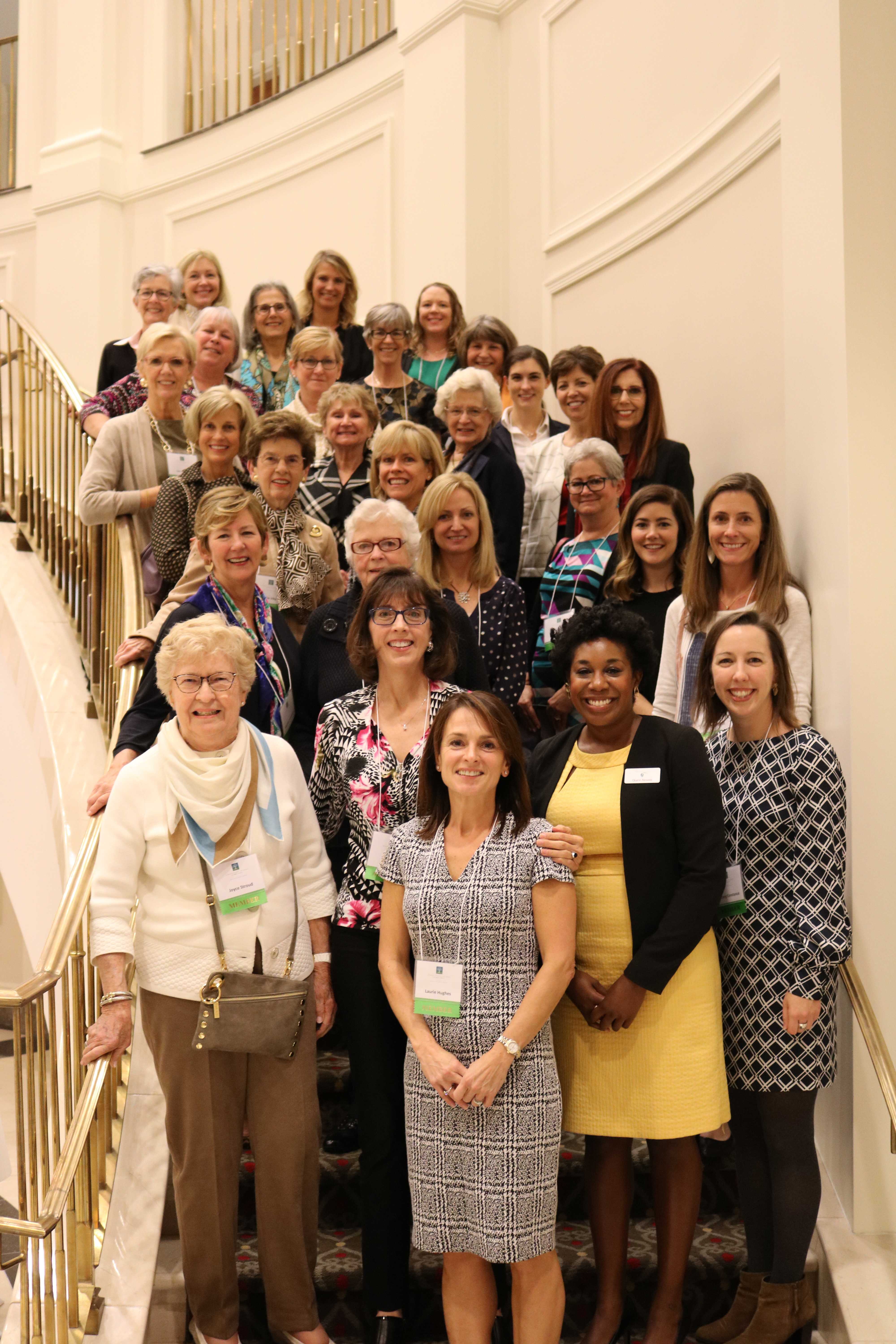 Members of the Women's Giving Network of Wake County gather for a photo at the 12th annual Impact Luncheon after celebrating $89,000 in local grant awards to nonprofit programs serving women and children.