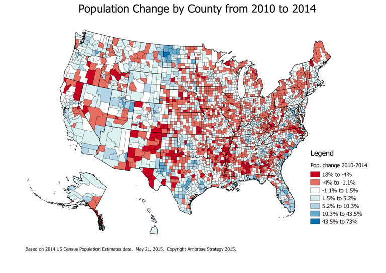 Population Change 2010-2014