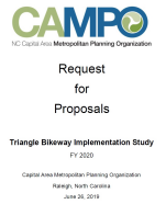 Full RFP document for Triangle Bikeways Study