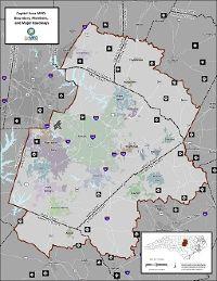 CAMPO Boundaries Map
