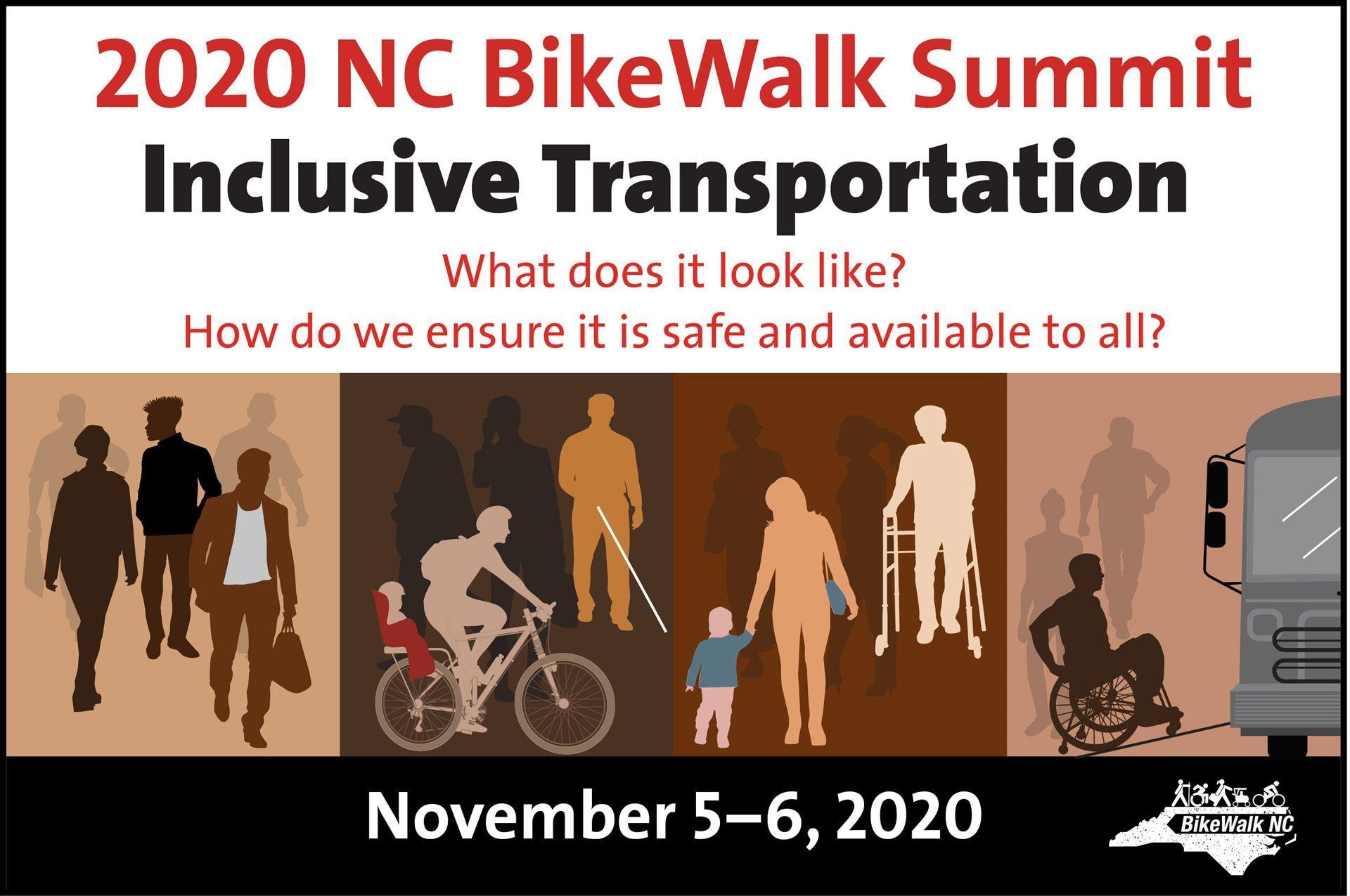 2020 Bike Walk Summit flyer