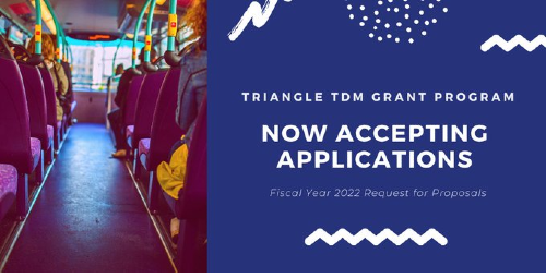 Decorative image for the TDM program's 2021 call for proposals