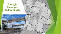 Triangle Strategic Tolling Study logo