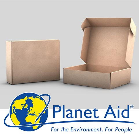 Reuse a Box With Planet Aid