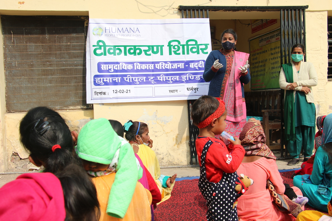 India's NeTT program participants helping with vaccine education
