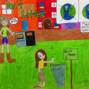 E PA Lucy L Planet Aid Earth Day Art Contest