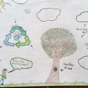 E PA Parker W Planet Aid Earth Day Art Contest