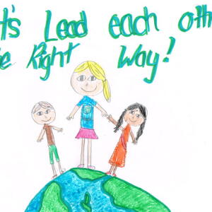 KC Addison F Planet Aid Earth Day Art Contest