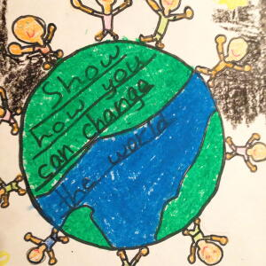 KC leaine c  Planet Aid Earth Day Art Contest