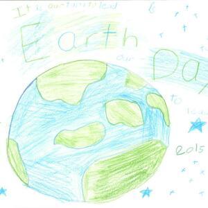 NNE Jocelyn W  Planet Aid Earth Day Art Contest