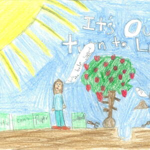NNE Mina B  Planet Aid Earth Day Art Contest