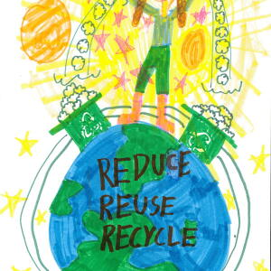 Nc Katelyn Y  Planet Aid Earth Day Art Contest