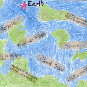 Nc McKayla M  Planet Aid Earth Day Art Contest