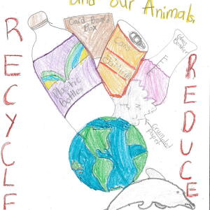 Nc JaMirah A  Planet Aid Earth Day Art Contest