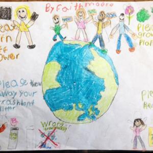 S oh Faith M  Planet Aid Earth Day Art Contest