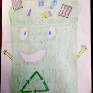 S oh Gabby R  Planet Aid Earth Day Art Contest