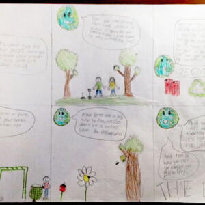 S oh Olivia B  Planet Aid Earth Day Art Contest