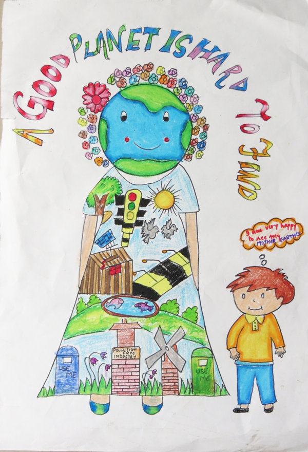 planet aid earth day art contest winner 2015 5
