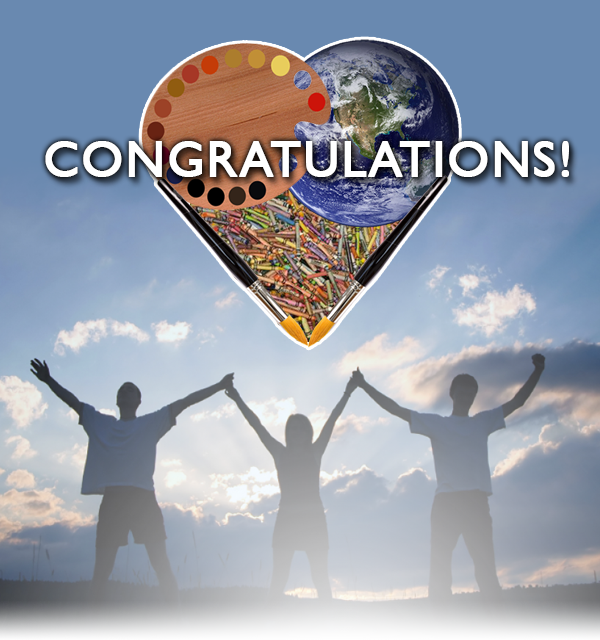 congratulations earth day art contest winners planet aid