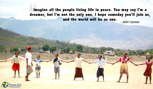 inspiration, quotes, peace, planet aid