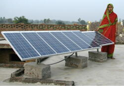 India, solar power, USAID, Planet Aid
