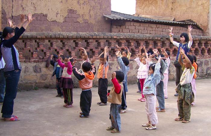 China preschools planet aid