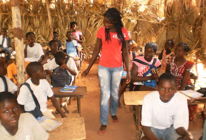 Guinea-Bissau teacher training planet aid