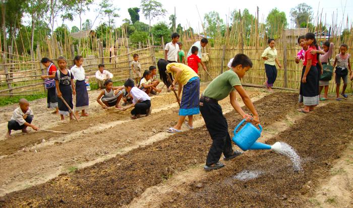 Laos child aid planet aid