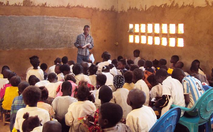 Angola teacher training planet aid
