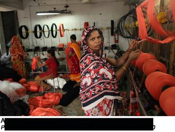 Textile factory in Bangladesh